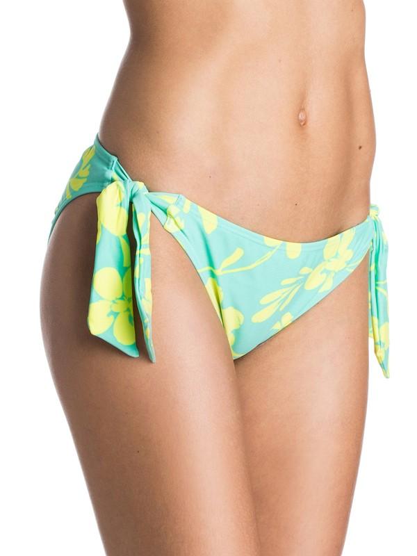 0 Day Dreamin Knotted 70's Bikini Bottoms  ARJX403098 Roxy
