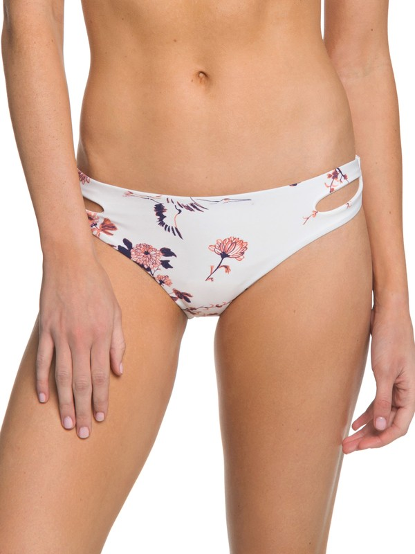 0 Printed Softly Love Reversible 70's Bikini Bottom Beige ARJX403322 Roxy
