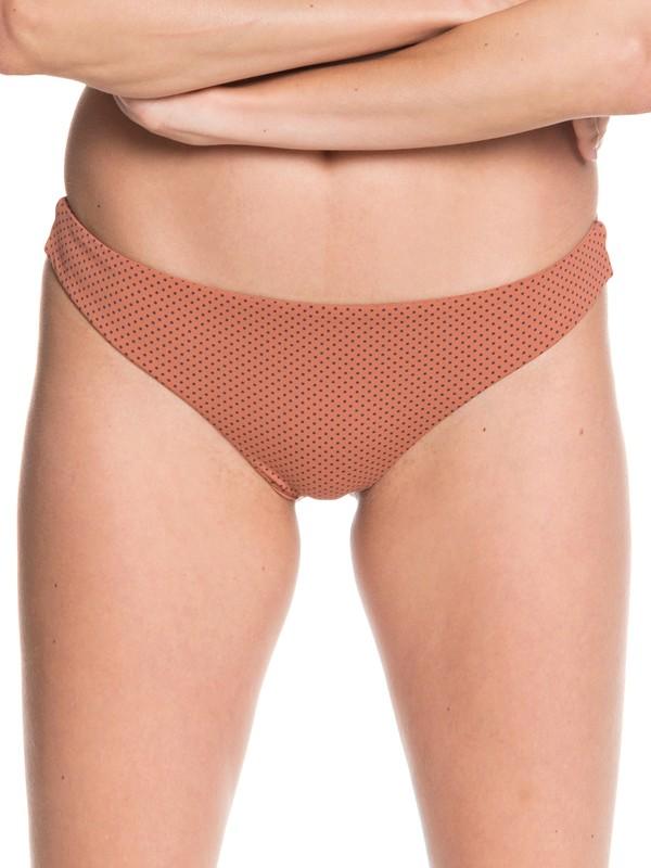 0 Printed Beach Classics Mini Bikini Bottoms Pink ARJX403377 Roxy