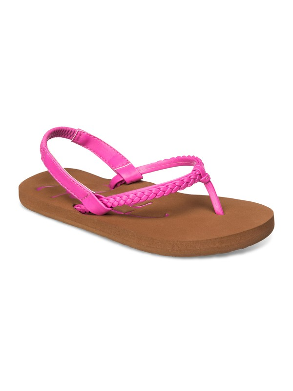 0 Girl's 2-6 Cabo Sandals Pink ARLL100039 Roxy