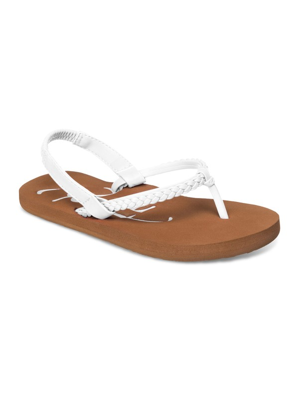 0 Girl's 2-6 Cabo Sandals White ARLL100039 Roxy