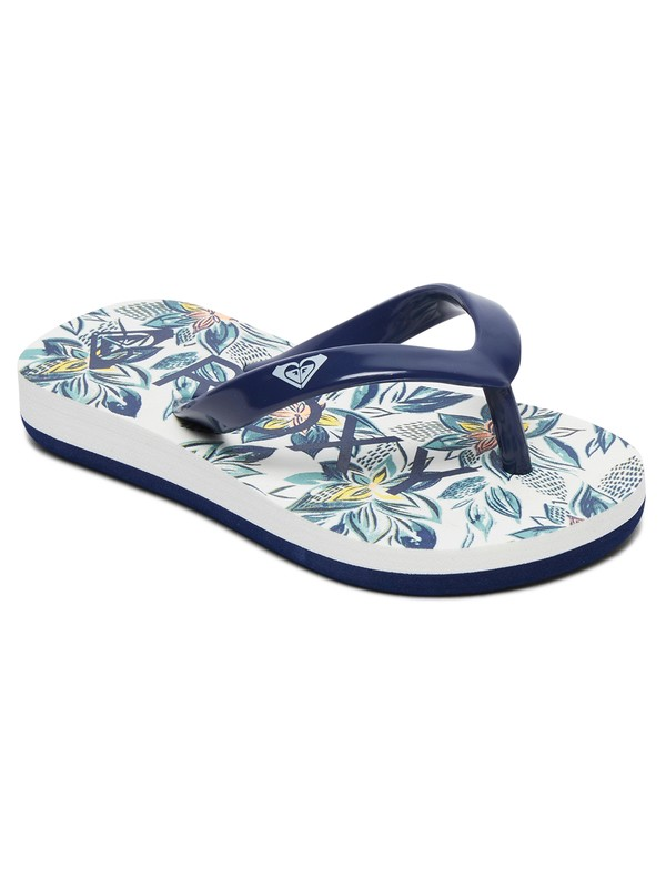 0 Bamboo - Flip-Flops for Toddlers Blue AROL100002 Roxy