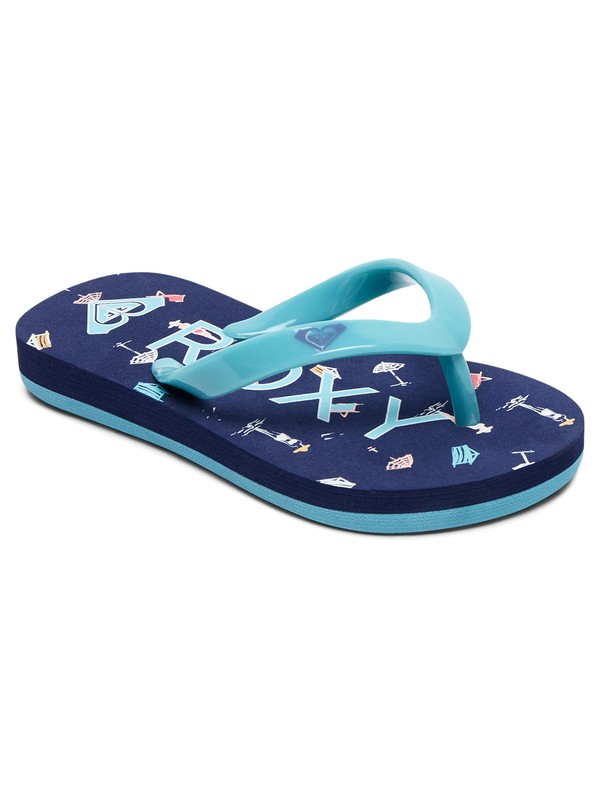 0 Bamboo - Teenslippers voor toddlers Green AROL100002 Roxy