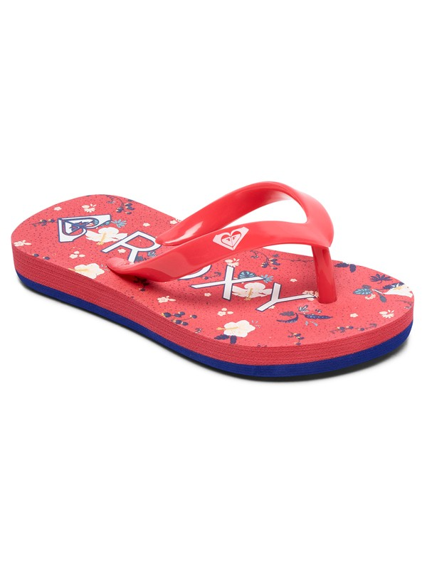 0 Bamboo - Flip-Flops for Toddlers Pink AROL100002 Roxy