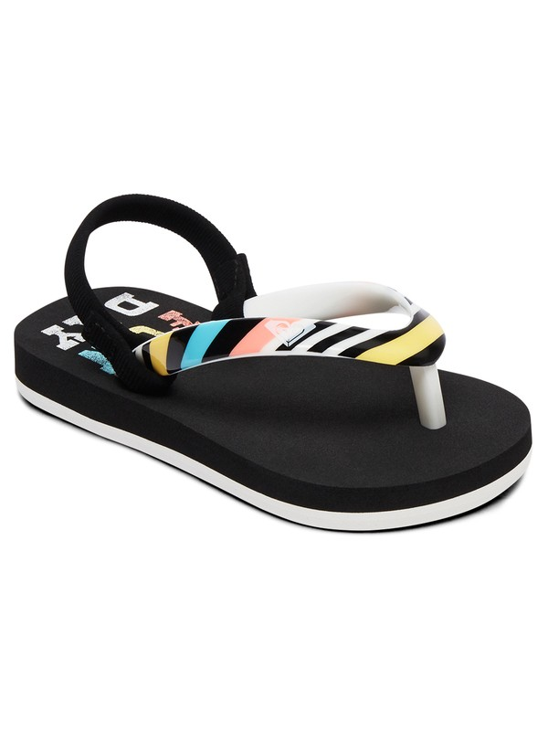 0 Girl's 2-6 Pebbles Sandals Black AROL100004 Roxy