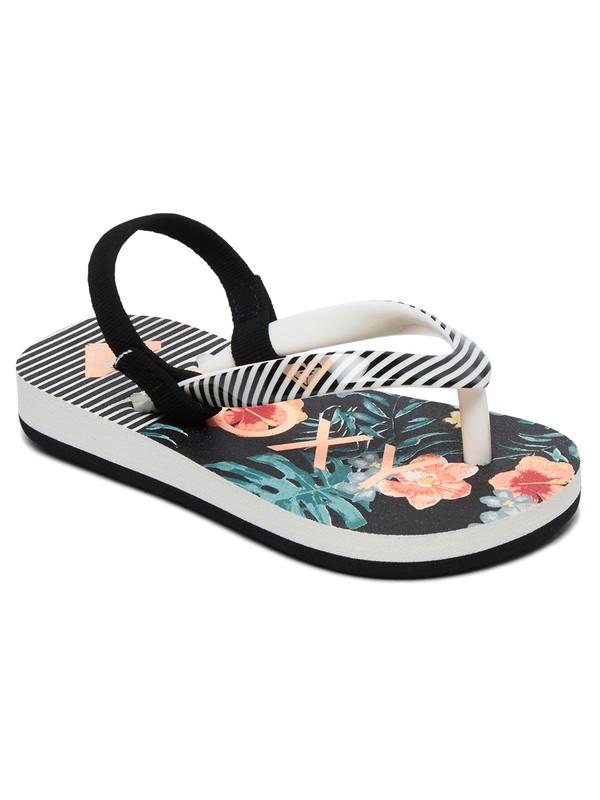 0 Girl's 2-6 Pebbles Sandals Orange AROL100004 Roxy