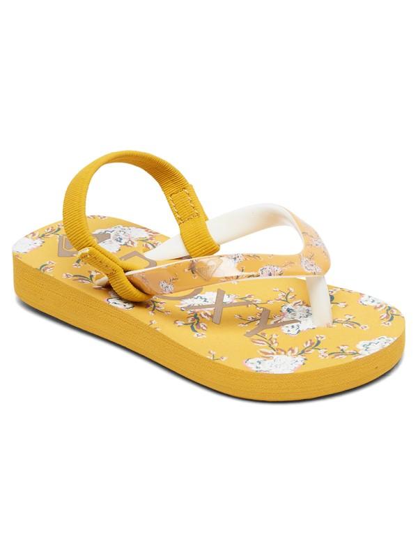0 Niñas 2-6 Sandalias Pebbles Amarillo AROL100004 Roxy