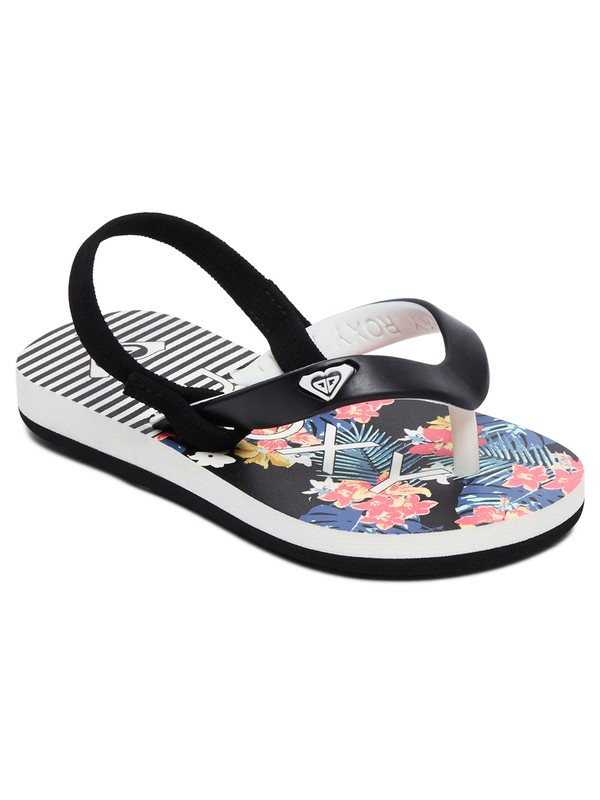 0 Girl's 2-6 Tahiti Sandals Black AROL100005 Roxy