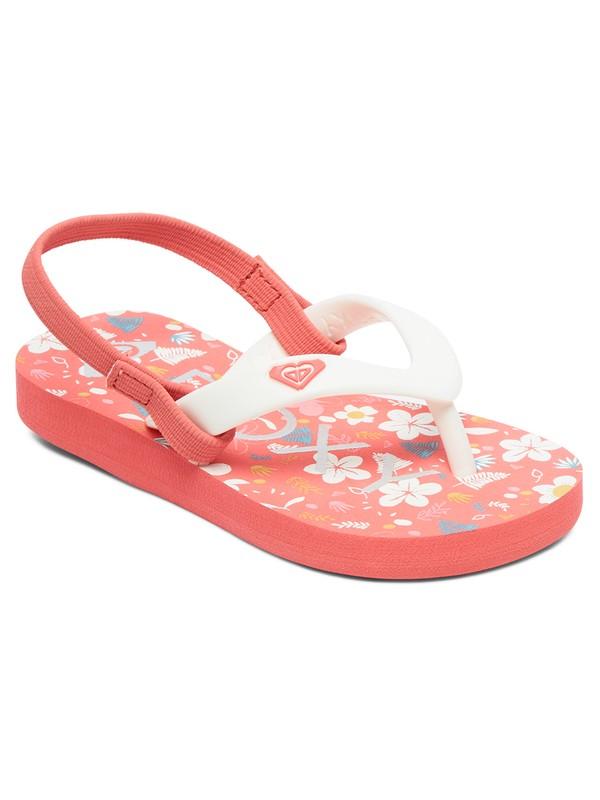 0 Girl's 2-6 Tahiti Sandals Grey AROL100005 Roxy