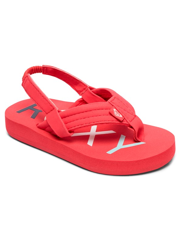 0 Girl's 2-6 Vista Sandals Pink AROL100006 Roxy