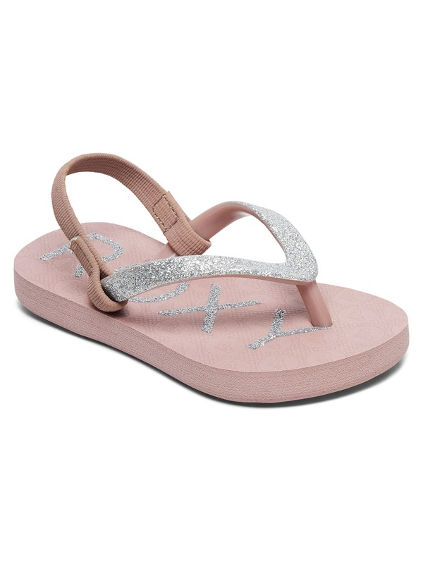 0 Viva Glitter - Flip-Flops for Toddlers Orange AROL100007 Roxy