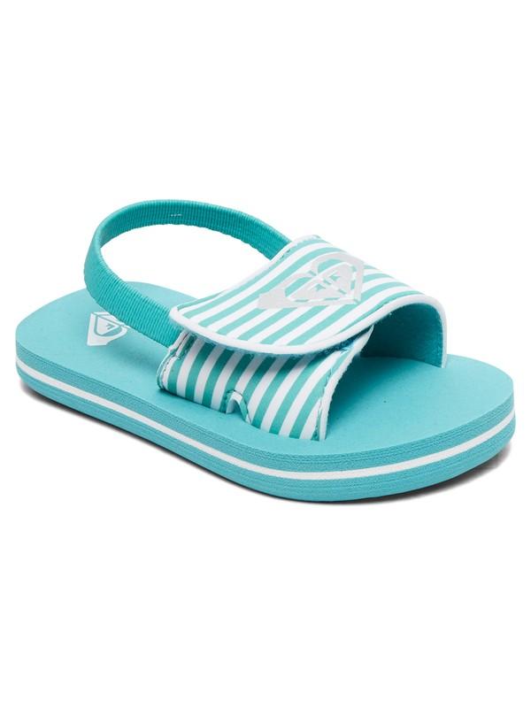 0 Finn Sandals Green AROL100012 Roxy