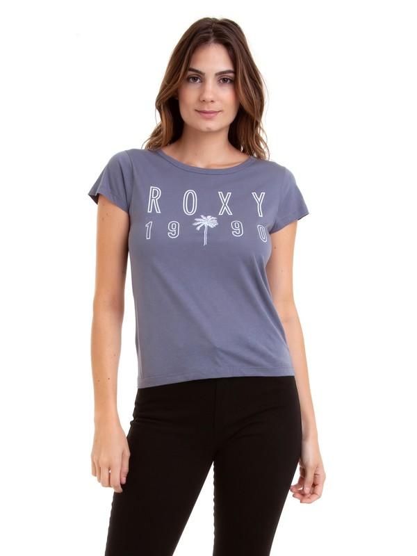 0 Camiseta Manga Curta Oh Shade Roxy  BR73871495 Roxy