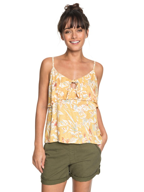 0 Blusa Building View Printed Roxy  BR73891380 Roxy