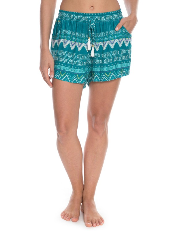 0 Shorts Kantha Verde BR74051192 Roxy