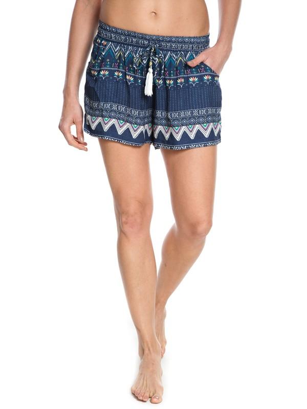 0 Shorts Kantha Azul BR74051192 Roxy