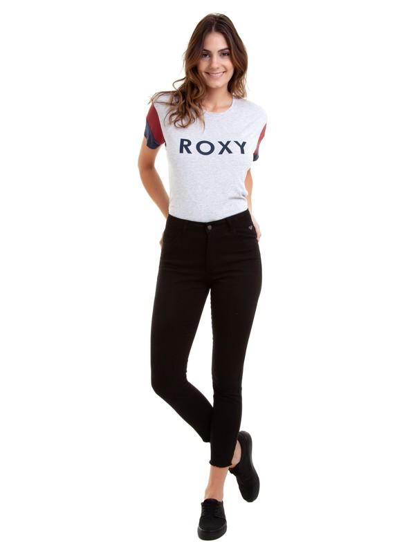0 Calça Skinny Color Cold Away Roxy Preto BR75331249 Roxy