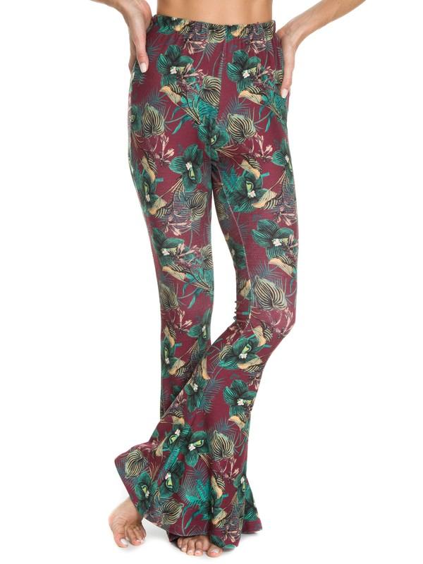 0 RX CALCA ESPECIAL HAVANA FLOWER Vermelho BR75351244 Roxy
