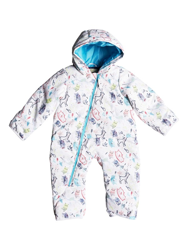 0 Baby Rose Snow Suit Weiss ERETS03004 Roxy