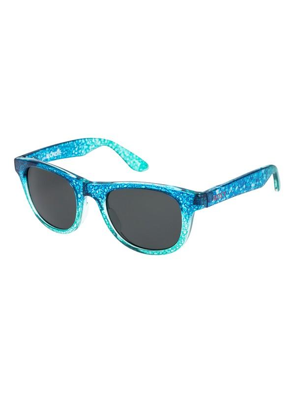0 Little Blondie - Lunettes de soleil pour Fille 3-7 ans Bleu ERG6011 Roxy