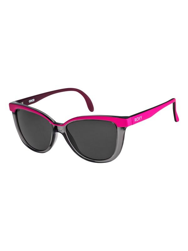 0 Coco - Sunglasses for Girls 3-7 Gray ERG6016 Roxy