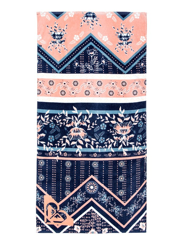 0 Pretty Simple - Beach Towel Blue ERGAA03065 Roxy