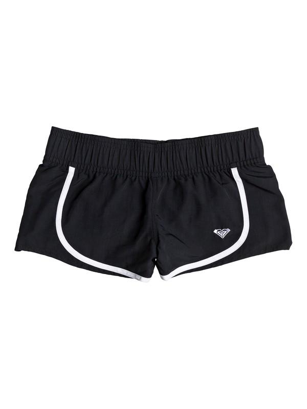 0 Need The Sea - Board Shorts for Girls 8-16 Black ERGBS03045 Roxy