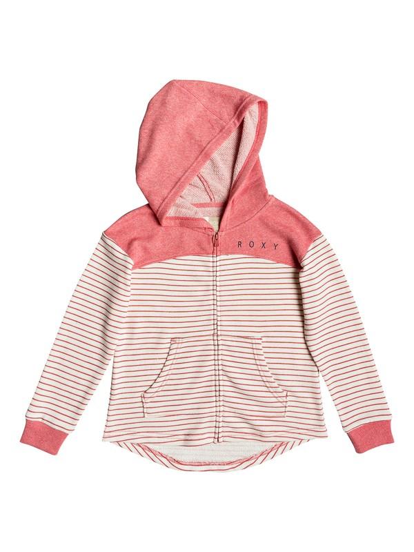 0 Happiest Fall - Sudadera con capucha y cremallera para Chicas 8-16 Rosa ERGFT03293 Roxy
