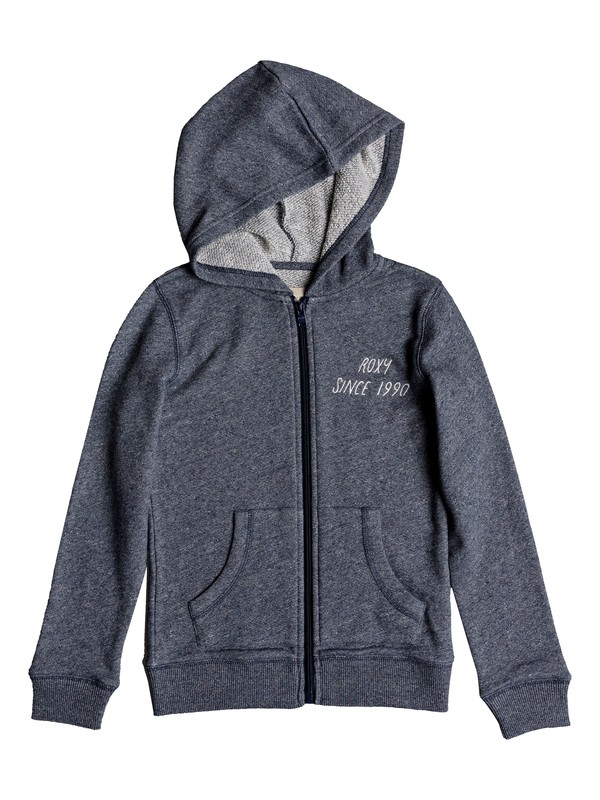 0 Girl's 7-14 Last Smile Chase The Light Hoodie Blue ERGFT03309 Roxy