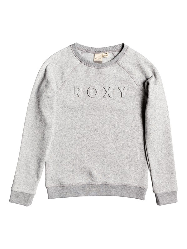 0 Someone Like You - Sweatshirt pour Fille 4-16 Gris ERGFT03423 Roxy