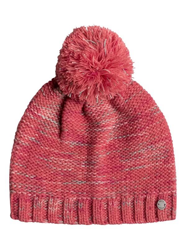 0 Finest Mood - Beanie for Girls 8-16 Pink ERGHA03040 Roxy