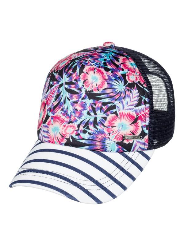 0 Girl's 7-14 Just Ok Trucker Hat  ERGHA03103 Roxy