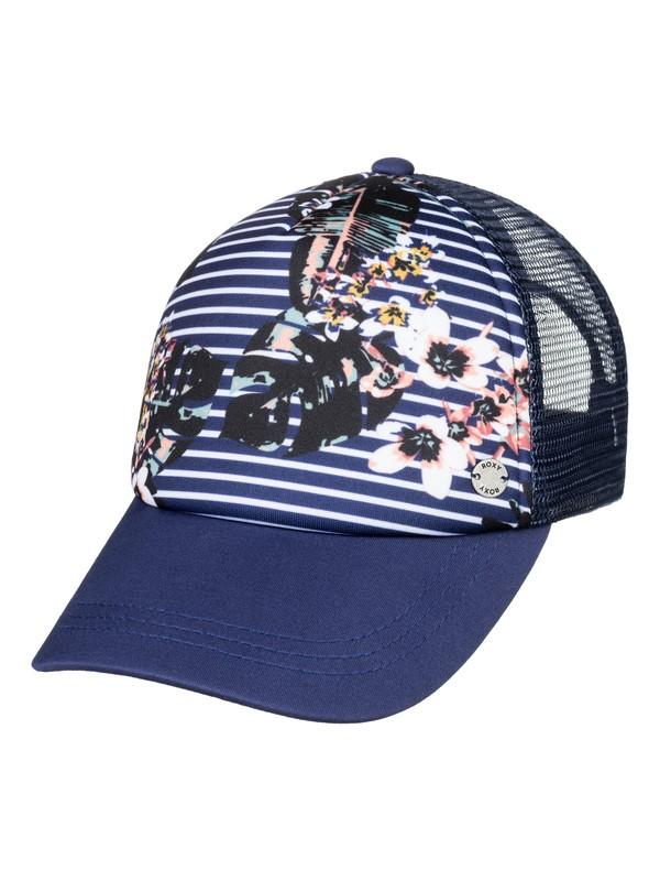 0 Girl's 7-14 Reggae Town Trucker Hat  ERGHA03116 Roxy