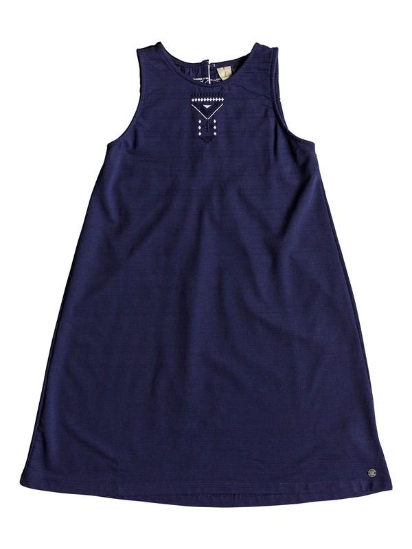 0 Take Me Back - Tank-Kleid für Mädchen 8-16 Blau ERGKD03053 Roxy