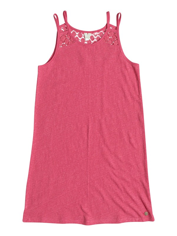 0 Bright New Day - Robe à bretelles pour Fille 8-16 ans Rose ERGKD03054 Roxy