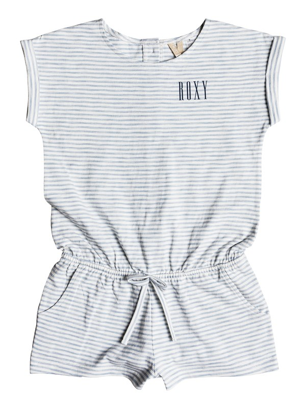 0 Girl's 7-14 Close Your Eyes Romper Blue ERGKD03069 Roxy
