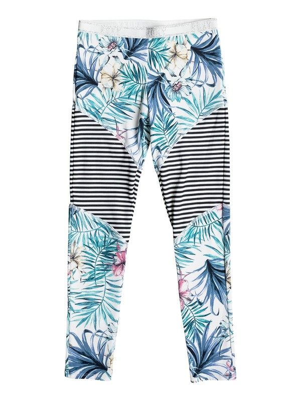 0 Blingbling - Surf Leggings for Girls 8-16 White ERGNP03021 Roxy