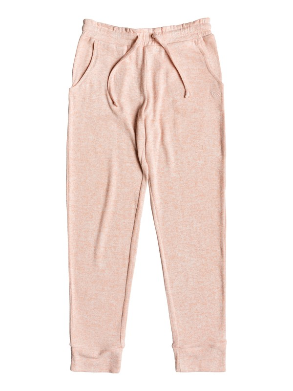 0 Flying Butterfly - Pantalon de jogging pour Fille 8-16 ans Rose ERGNP03046 Roxy