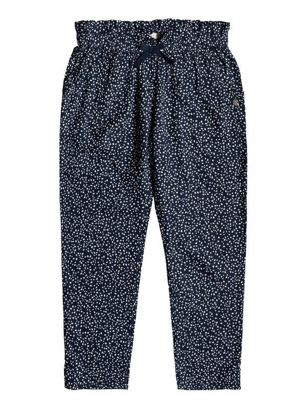 0 Happiest Day - Pantalon en viscose pour Fille 8-16 ans Bleu ERGNP03048 Roxy