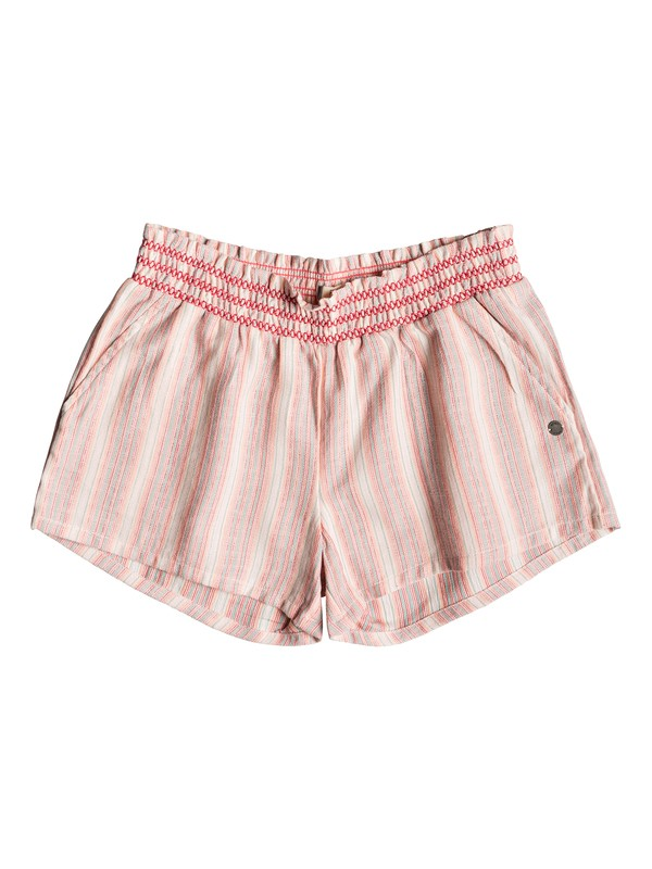 0 Girl's 7-14 Dancing In The Sun Beach Shorts Pink ERGNS03036 Roxy