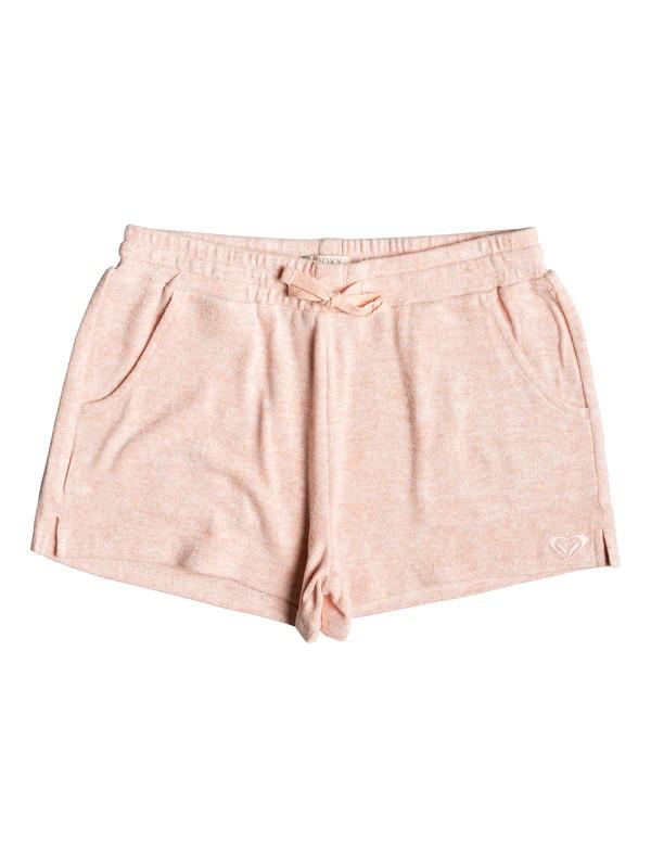 0 Girl's 7-14 Salty Shell Beach Shorts Pink ERGNS03039 Roxy