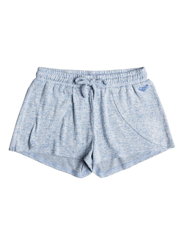 0 Girl's 7-14 Bird And Breeze Sweat Shorts Blue ERGNS03043 Roxy