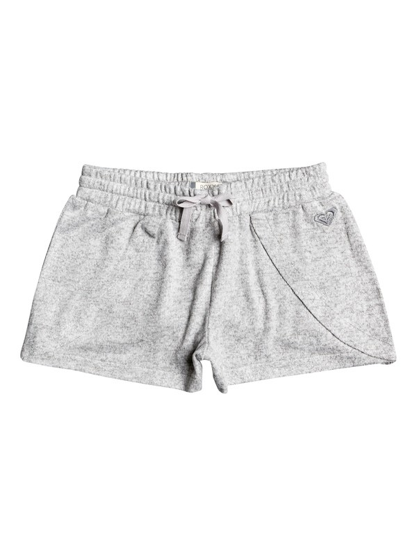 0 Girl's 7-14 Bird And Breeze Sweat Shorts Grey ERGNS03043 Roxy