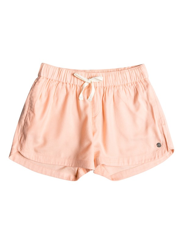 0 Girl's 7-14 Una Mattina Beach Shorts Pink ERGNS03045 Roxy