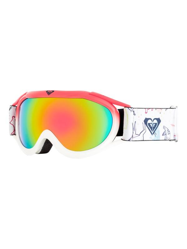 0 Girl's 7-14 Loola 2.0 Snowboard/Ski Goggles White ERGTG03007 Roxy