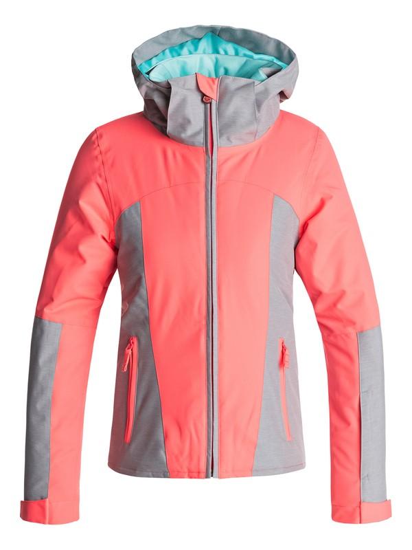 0 Sassy - Snow Jacke für Mädchen 8-16 Orange ERGTJ03032 Roxy
