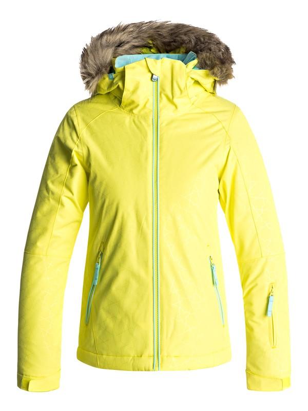 0 Jet Ski - Snow Jacke für Mädchen 8-16 Gelb ERGTJ03039 Roxy