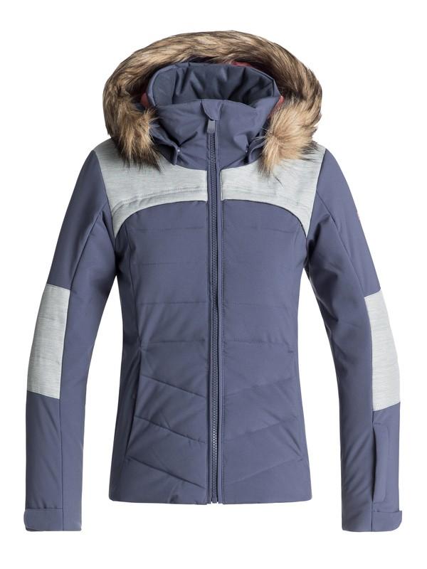 0 Bamba - Veste de snow pour Fille 8-16 ans Bleu ERGTJ03050 Roxy