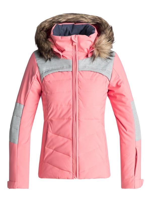 0 Bamba - Veste de snow pour Fille 8-16 ans Rose ERGTJ03050 Roxy