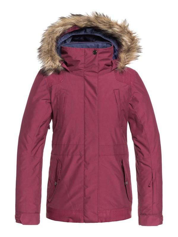 0 Tribe - Chaqueta Para Nieve para Chicas 8-16 Rojo ERGTJ03051 Roxy